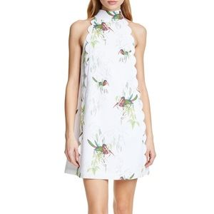 Toriat High Neck Floral Print Dress
